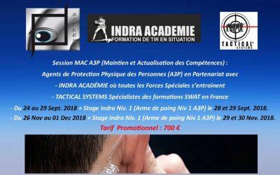 Offre promotionnelle formation MAC A3P
